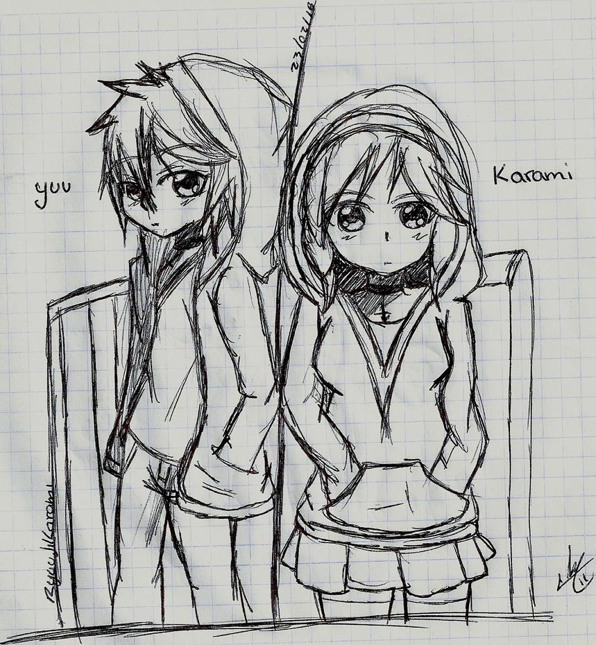 Yuu y Karami by RyuujiKarami
