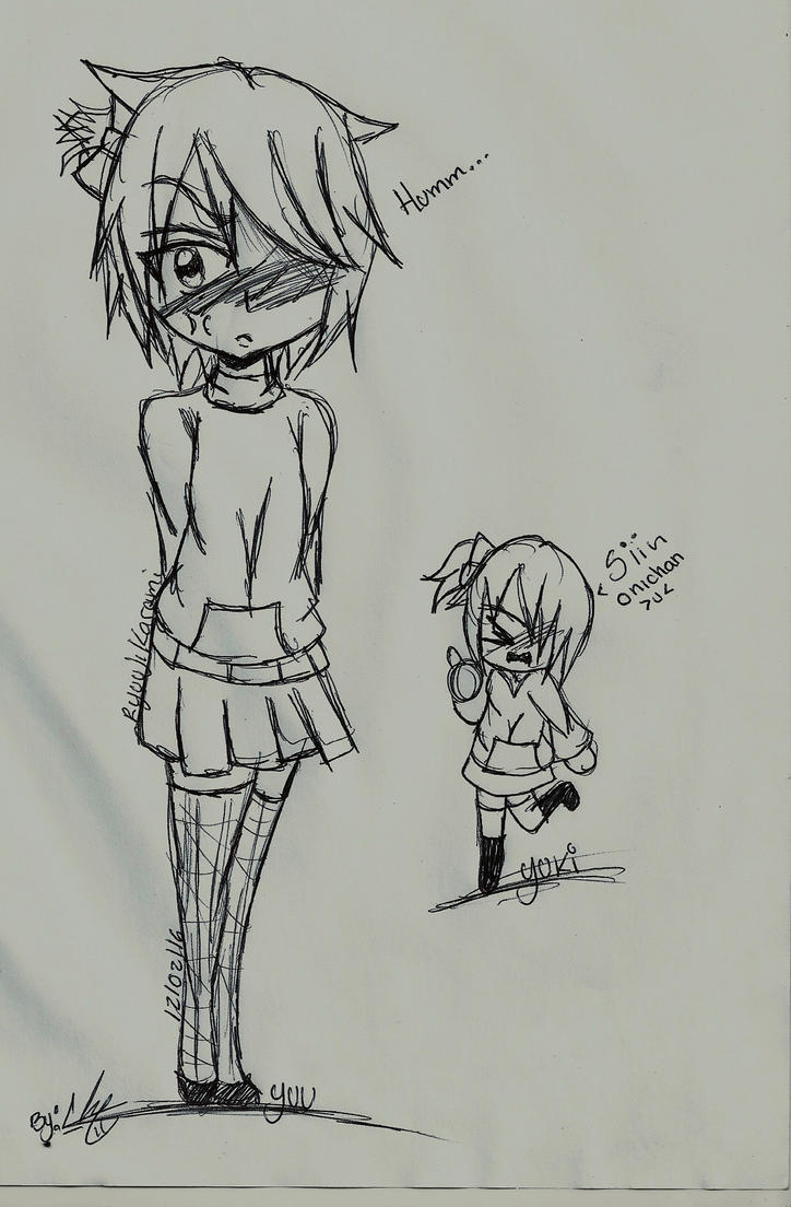 Yuu y Yuki by RyuujiKarami