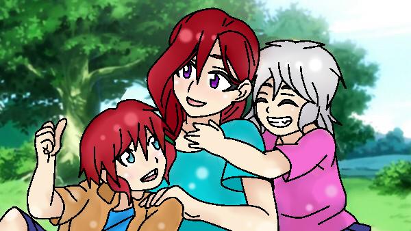 Madre y hijos by RyuujiKarami