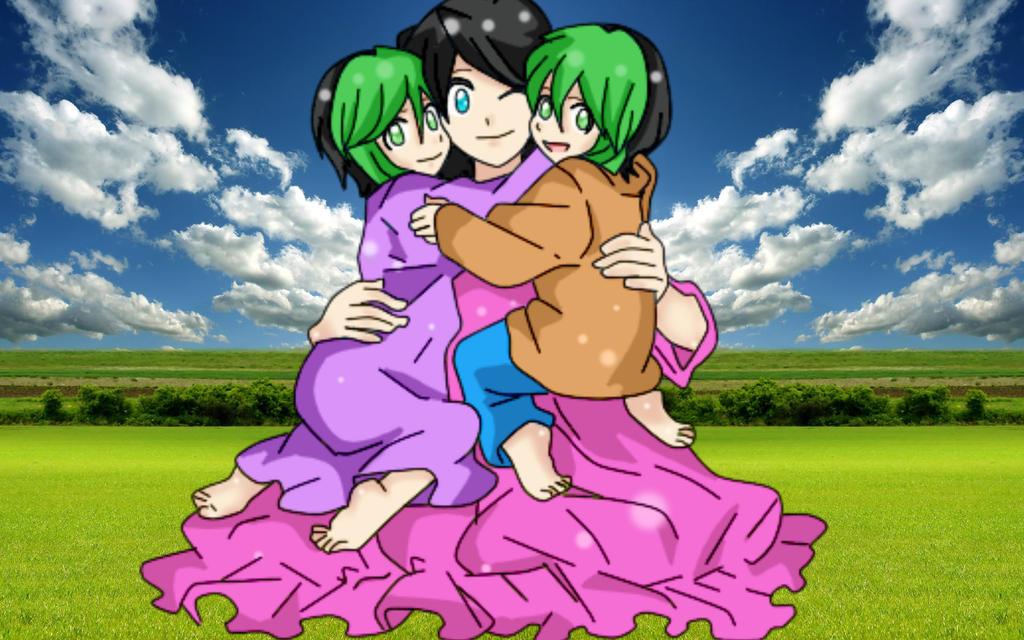 Familia Segaya (Ice, Karami and Yuki ) by RyuujiKarami