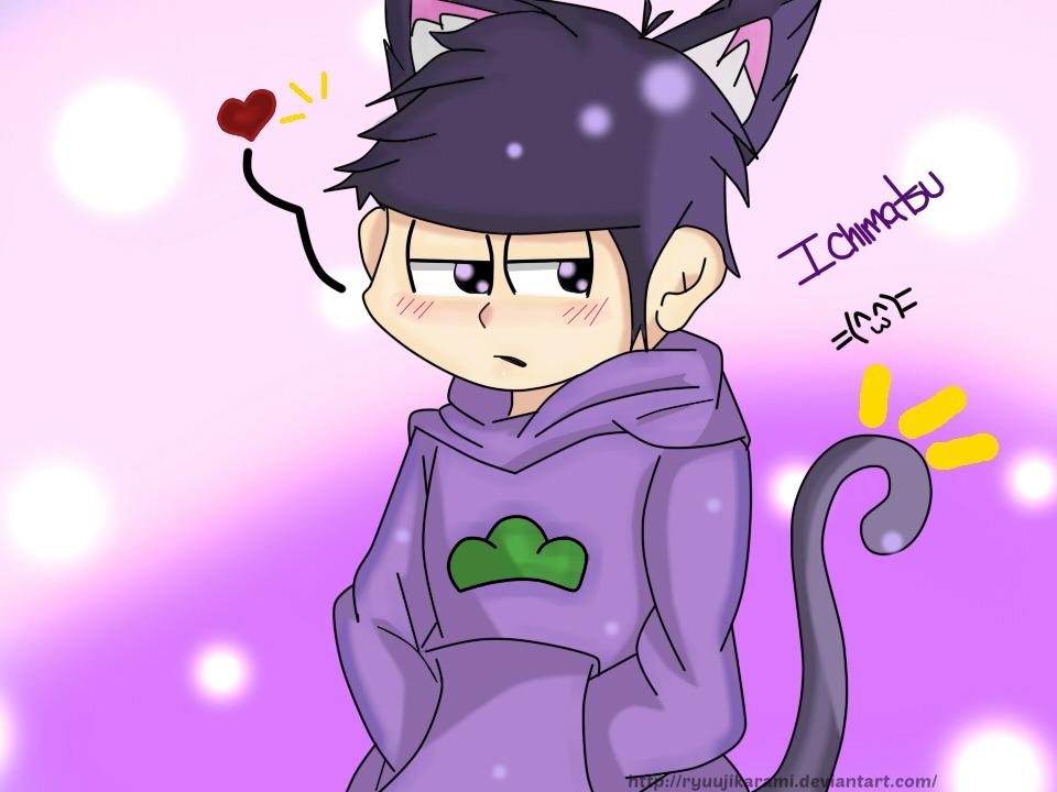 Ichimatsu (Cat version) by RyuujiKarami