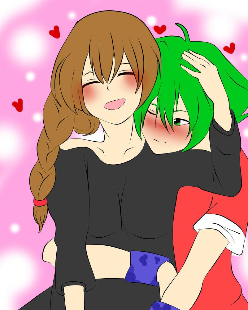Akira and Girlfriend by RyuujiKarami