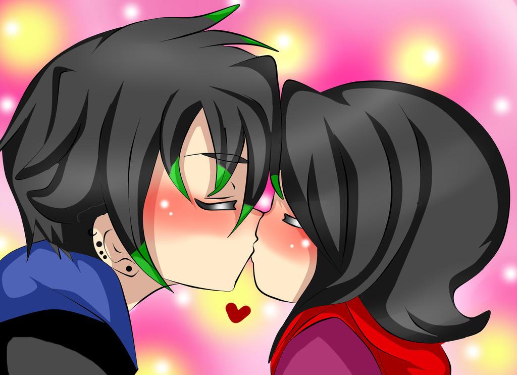 Kiss by RyuujiKarami