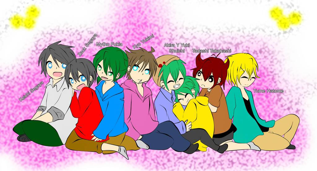 Boys by RyuujiKarami