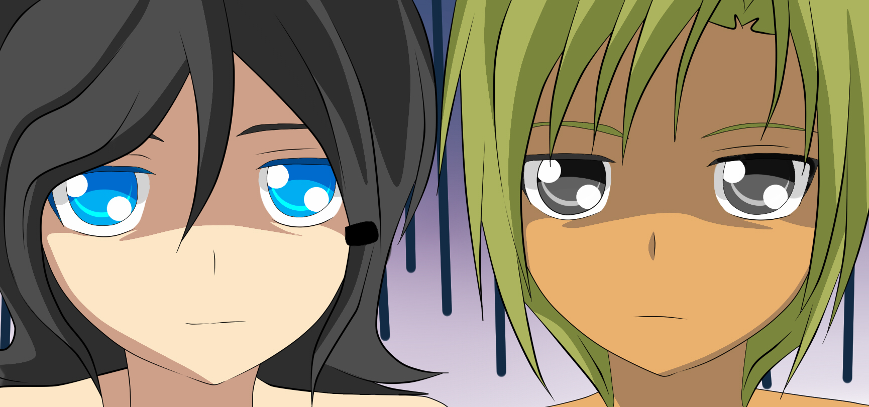 Karami y Yamato by RyuujiKarami