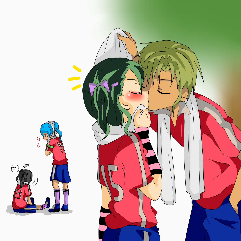 Yamato y Nao (kiss) by RyuujiKarami