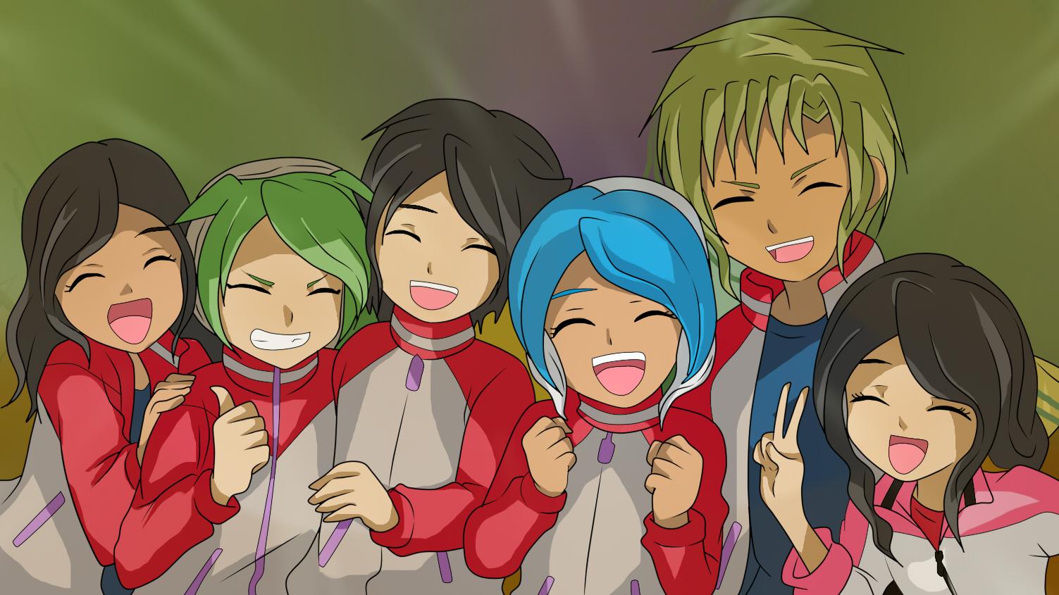 Team Athena by RyuujiKarami