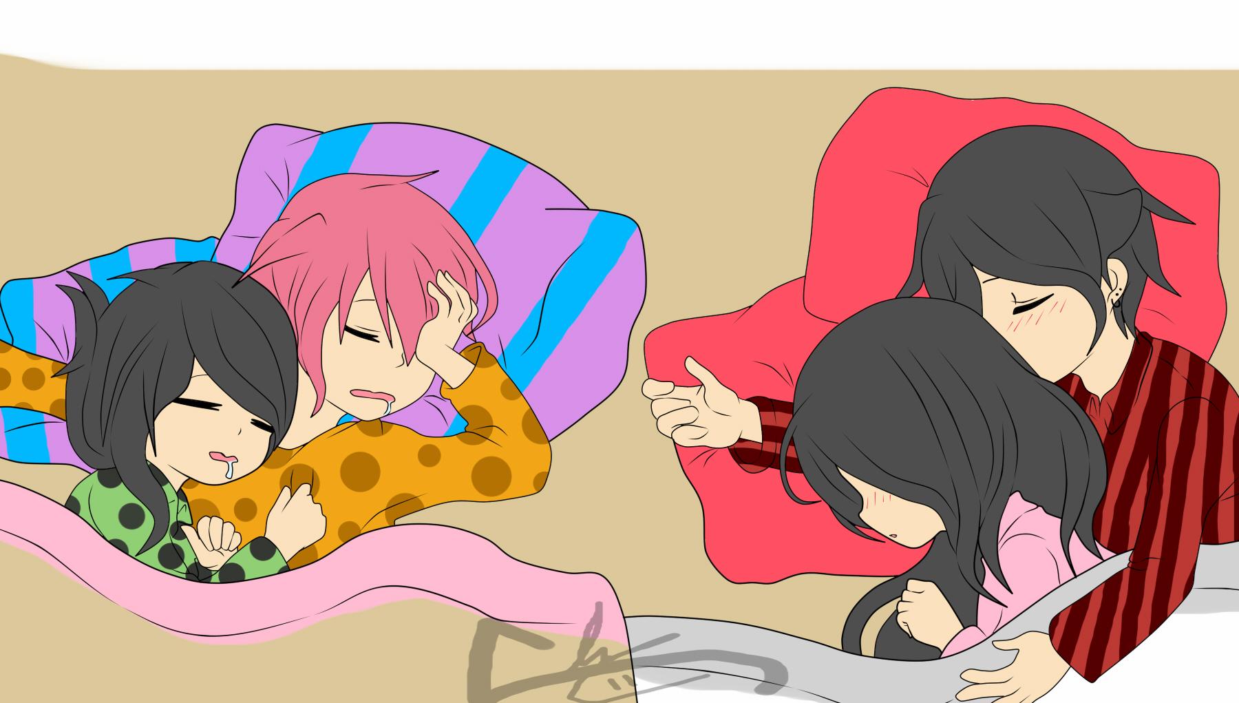Dormidos by RyuujiKarami