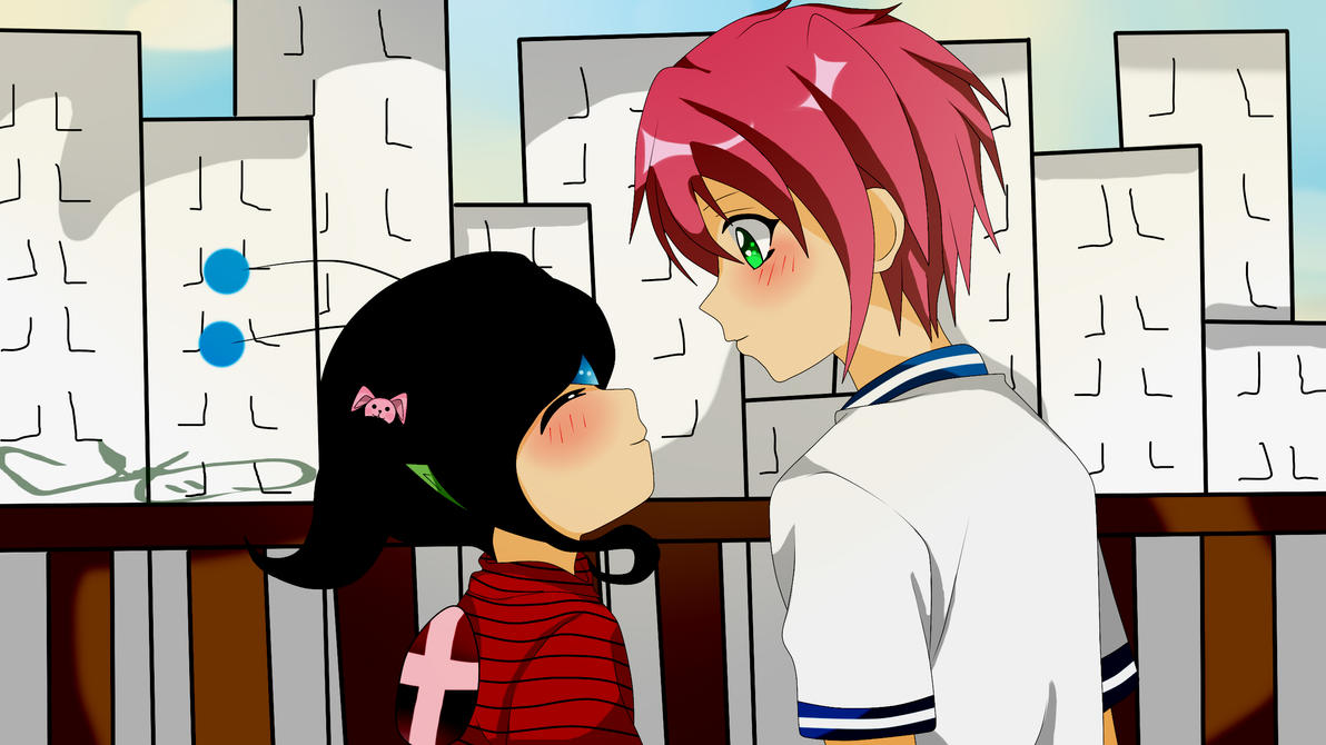 Akira y Zorka vers humana by RyuujiKarami