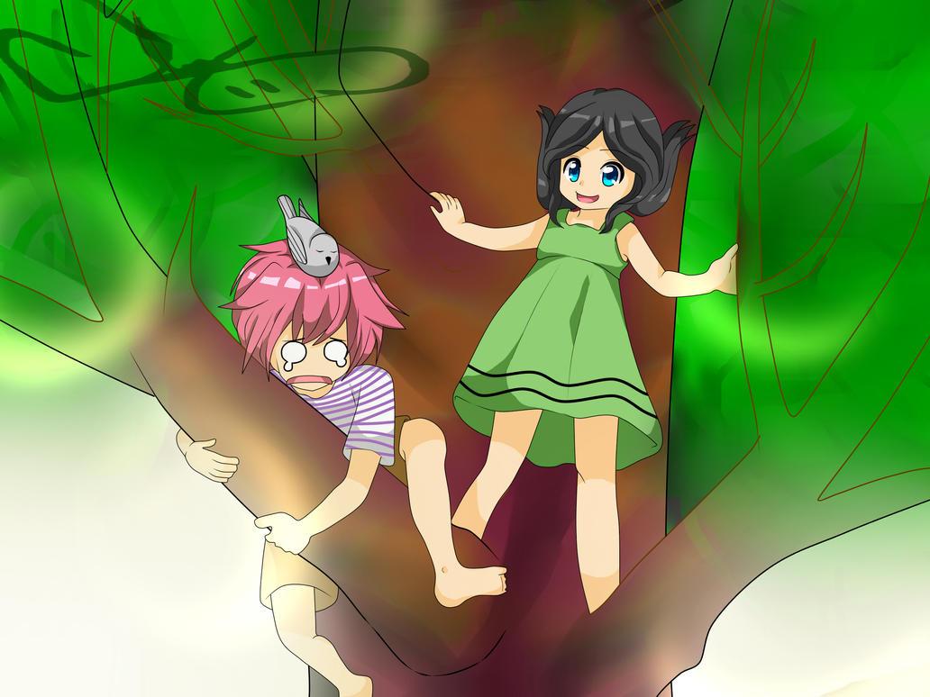 Aki y Kara (Oc) by RyuujiKarami