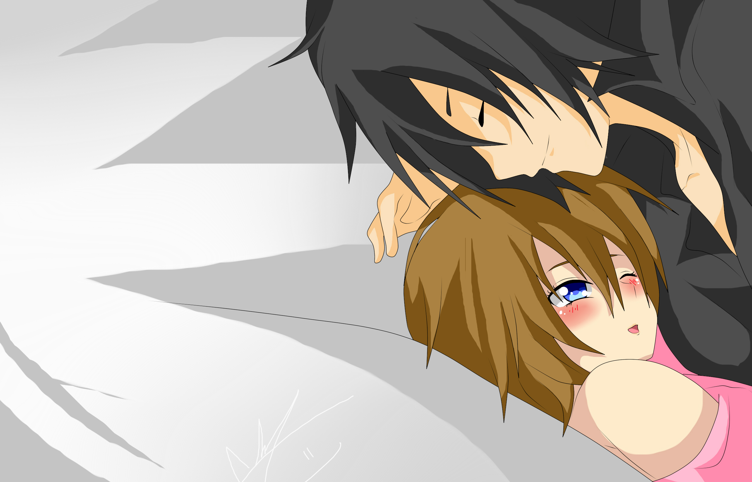 Sora y Derek (Oc) by RyuujiKarami