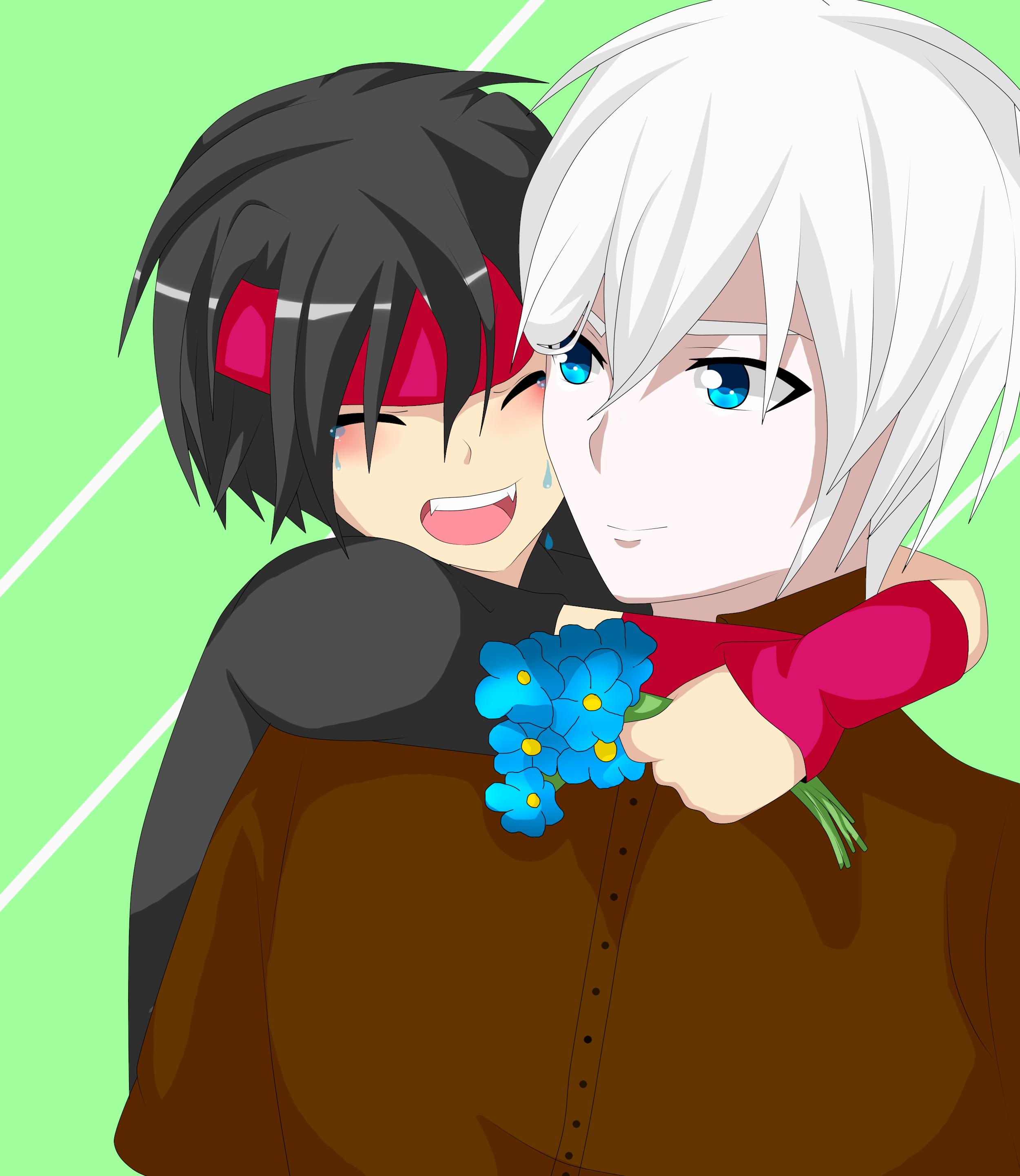 Garu y Daniel by RyuujiKarami
