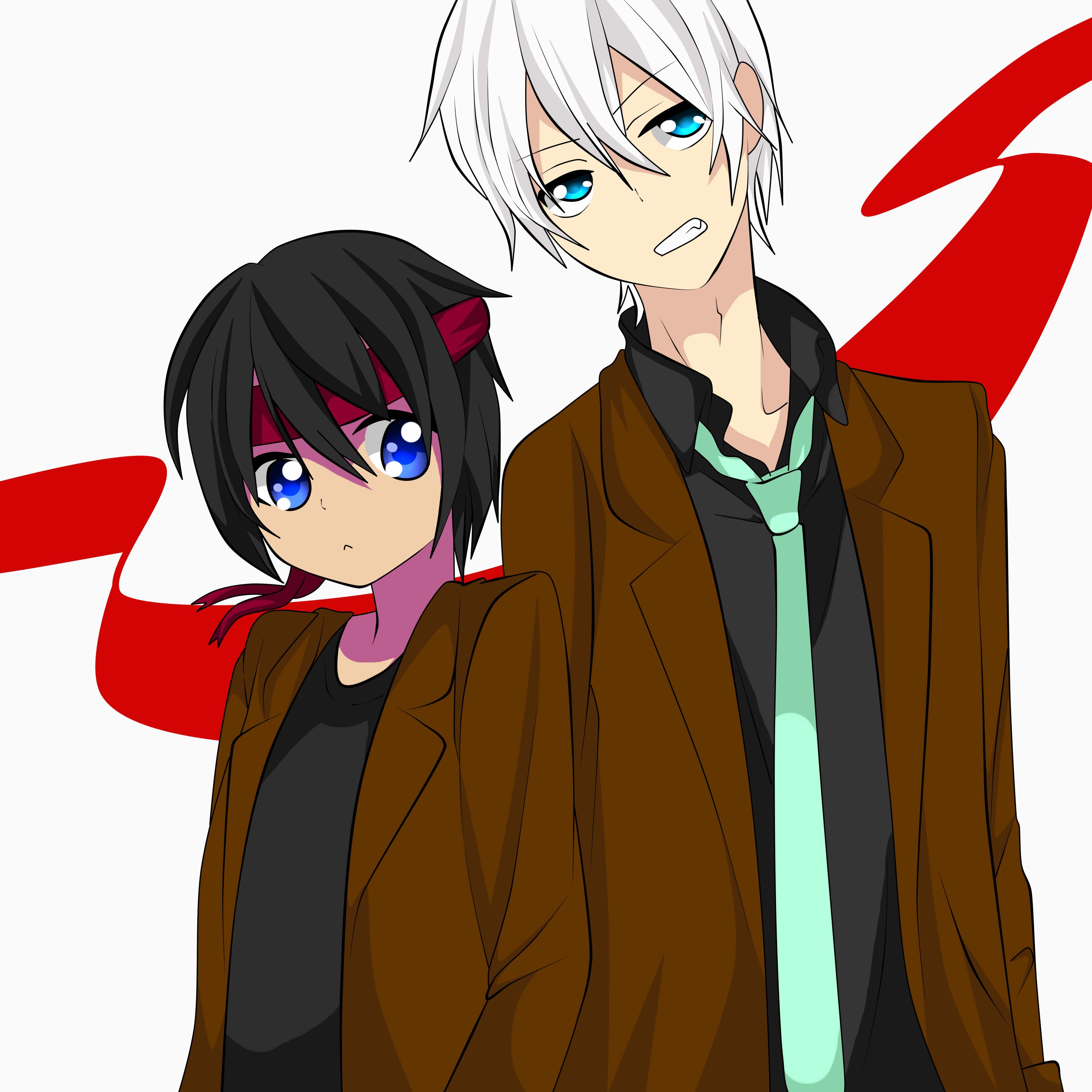 Garu y Dani by RyuujiKarami