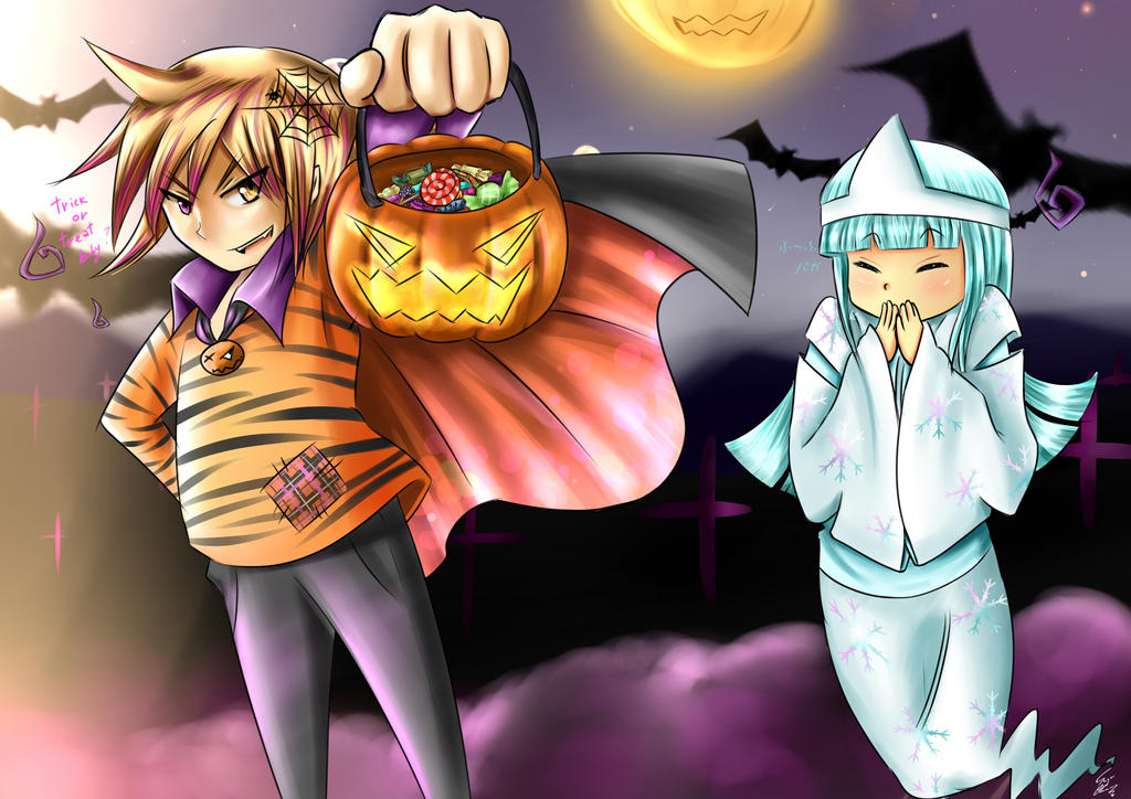 halloween contest by sayu--chan