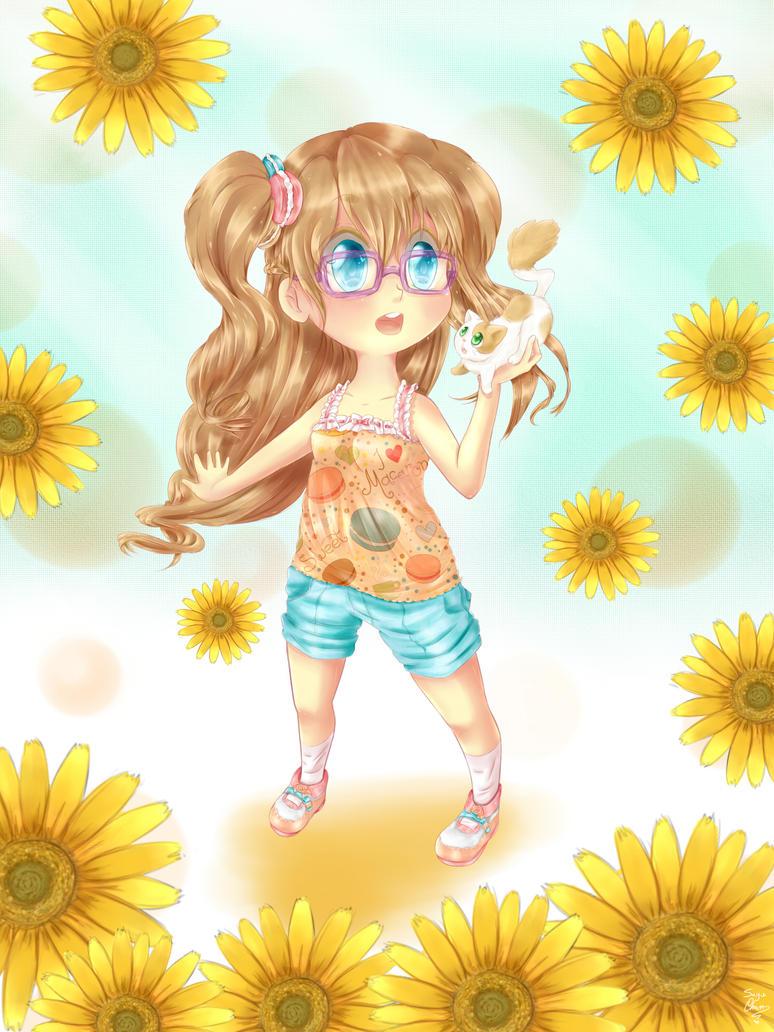 macaron girl (ver.B) by sayu--chan
