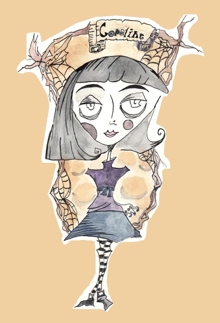 Coraline by LadyFrankenstein1138