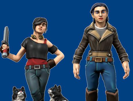 Hero Forge Sisters