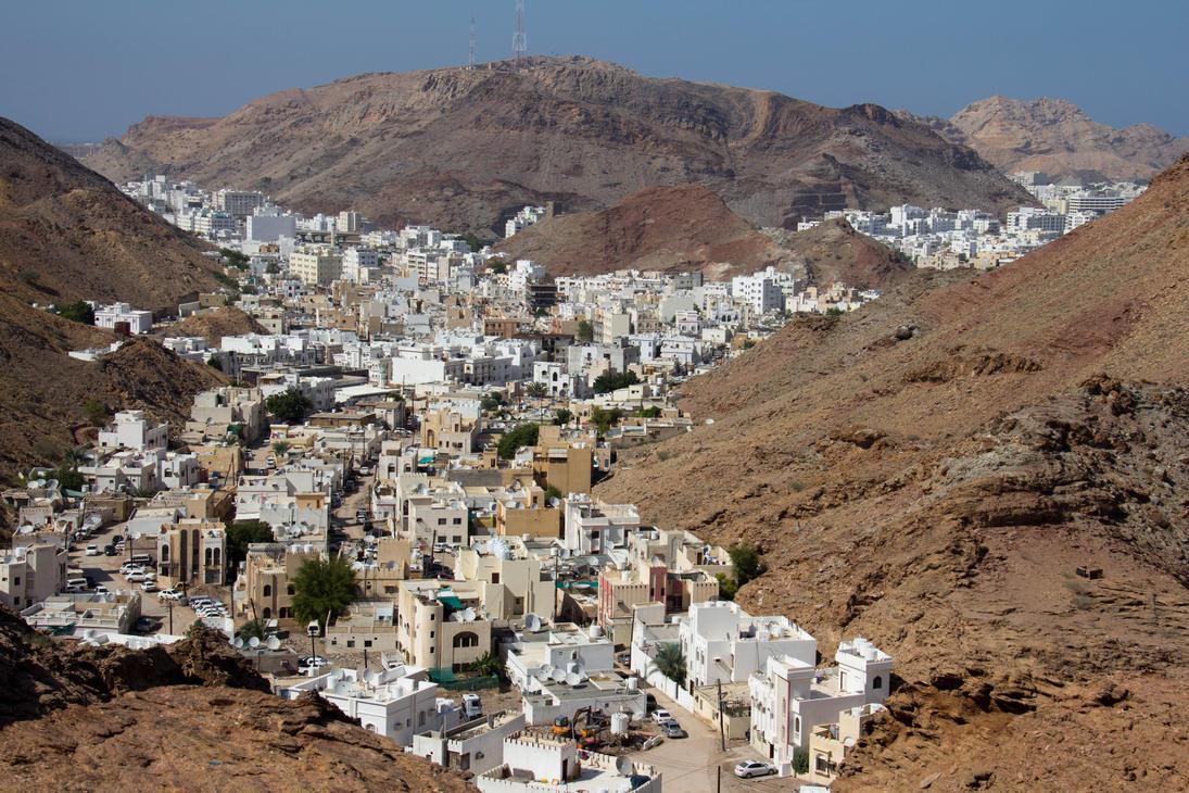 Nizwa Oman  city photos gallery : Overlooking Nizwa, Oman by OmanNige on DeviantArt