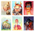 Watercolor Final - Critters