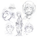 Alfonse Redesign - Sketches