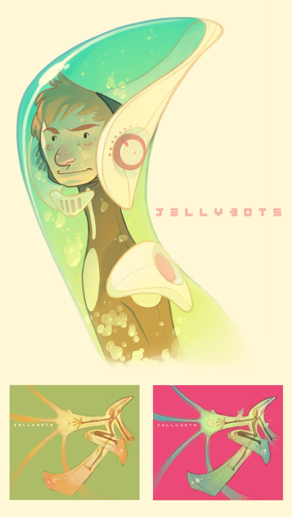 Jellybots. by nicholaskole