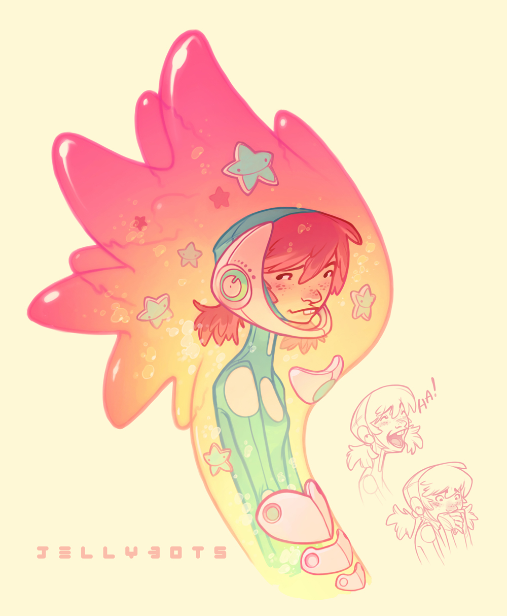 Jellybots: Lizzie by nicholaskole