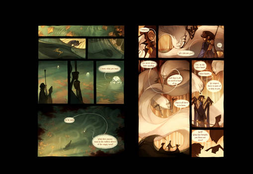 The Hollow Men: Pages 6 and 7