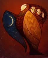 Commission - Owl Tree