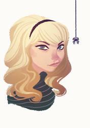 Gwen Stacy by nicholaskole