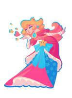 Commission - Princess Peach Tattoo! by nicholaskole