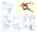 Spidey Sketches