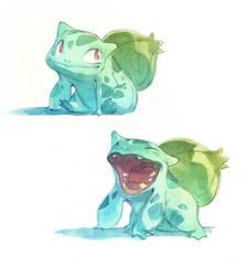 Bulbasaur by nicholaskole