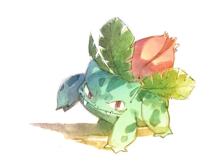 Ivysaur by nicholaskole