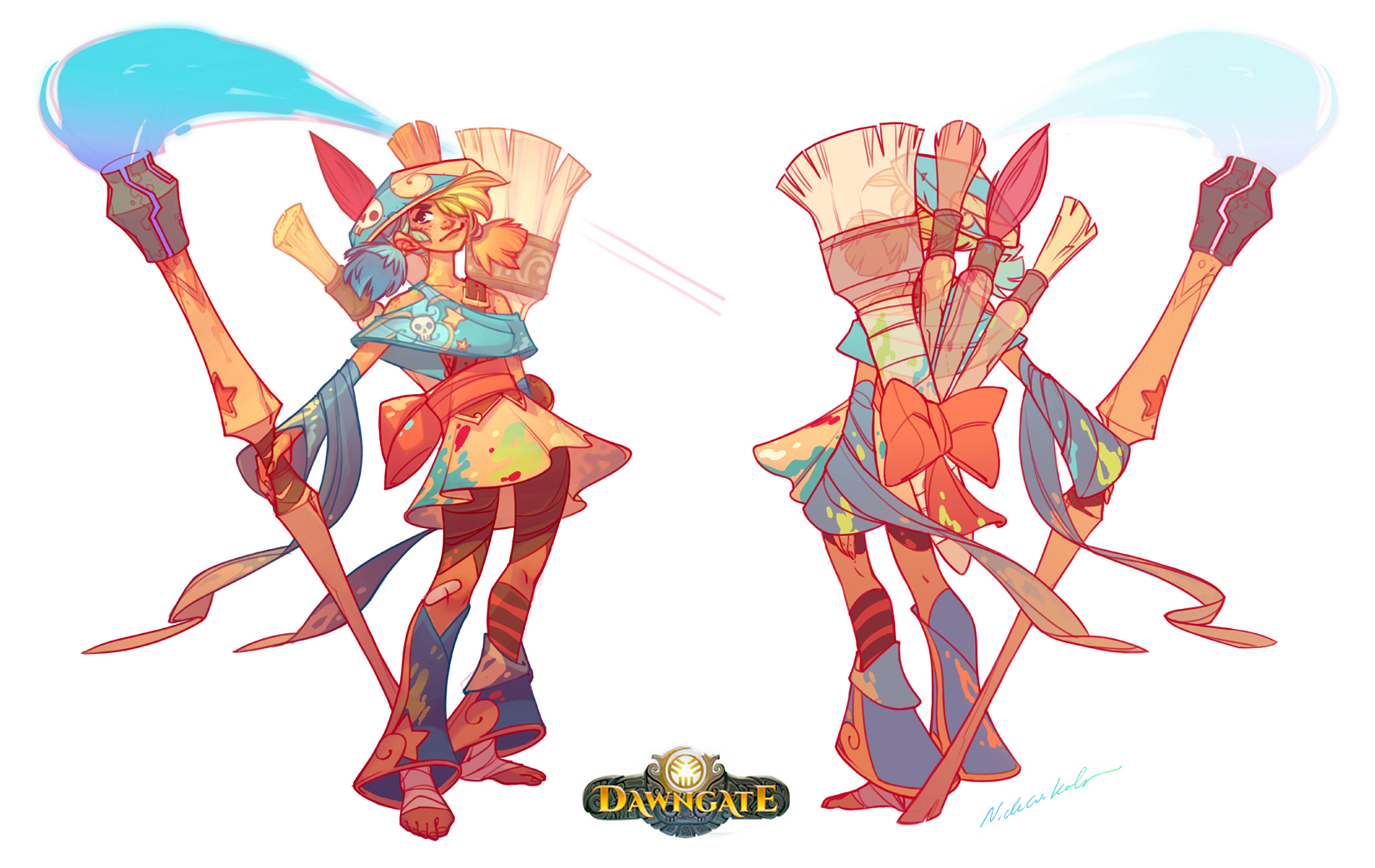 Dawngate Concept - Zeri!