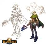Dawngate Skin - Courier Freia