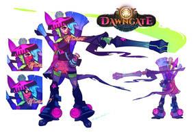 Dawngate Skin - GRAFFITI ZERI! by nicholaskole