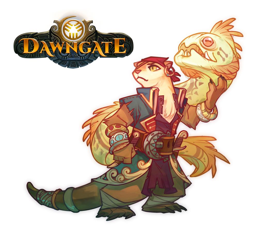 Dawngate Skin - Pirate Moya by nicholaskole