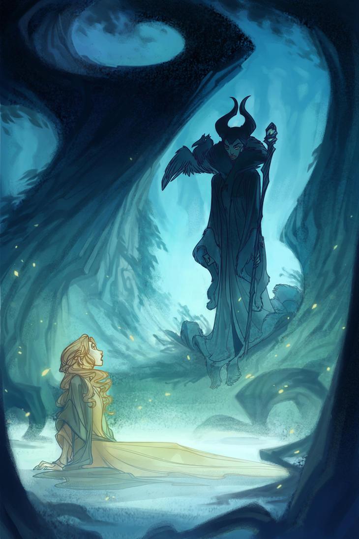 Maleficent - The Encounter by nicholaskole