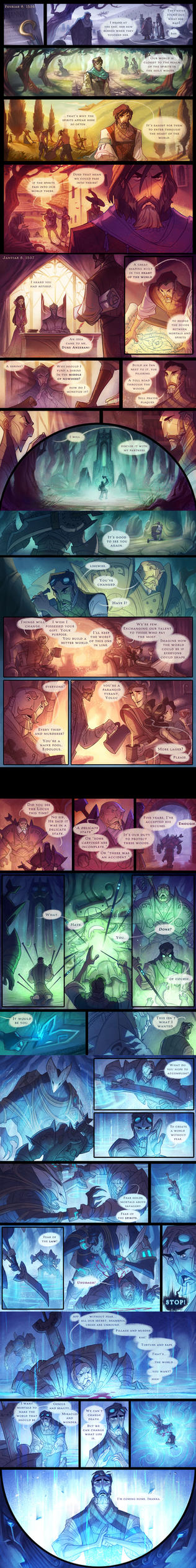 The Dawngate Chronicles - Prologue Part 2 by nicholaskole