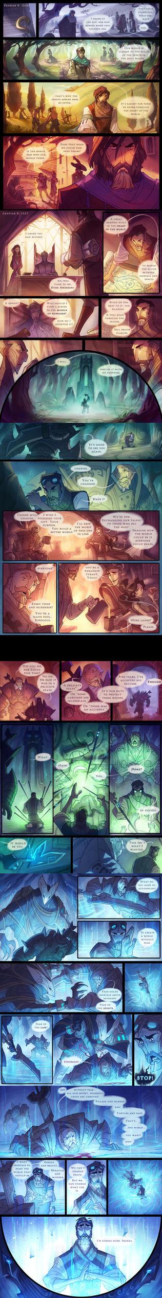 The Dawngate Chronicles - Prologue Part 2 by nicholaskole