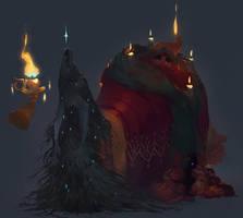 A Christmas Carol - Spirits by nicholaskole