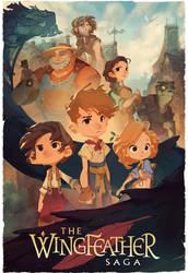 The Wingfeather Saga - Poster by nicholaskole