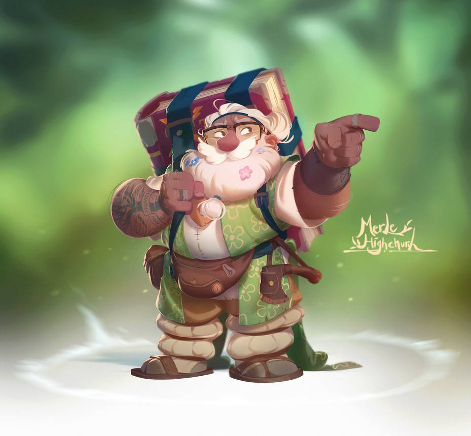 The Adventure Zone - Merle by nicholaskole