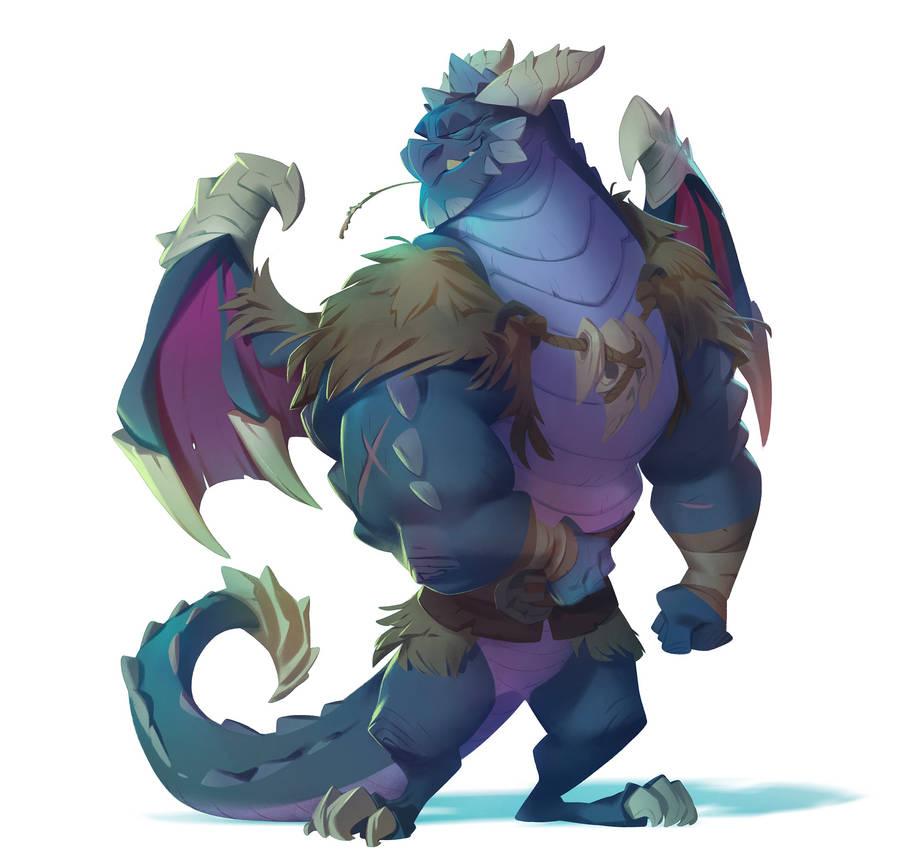 Spyro The Dragon: Bubba by nicholaskole