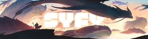 SYFY/SDCC promotion: Migrating Titans by nicholaskole
