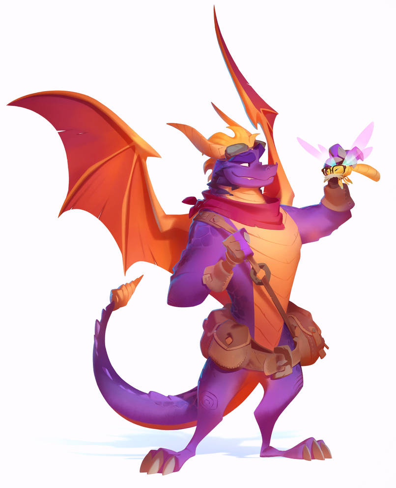 Spyro + Sparx: All Grown Up by nicholaskole