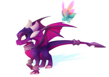 Cynder + Sting: Reignited by nicholaskole