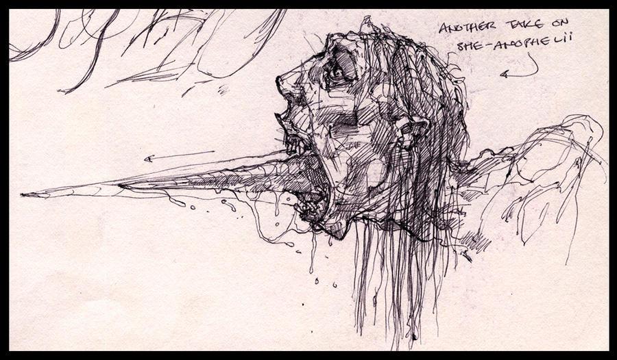 Sketchbook - She-Anophelii Det