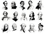 Steampunk Facial Hairsmen