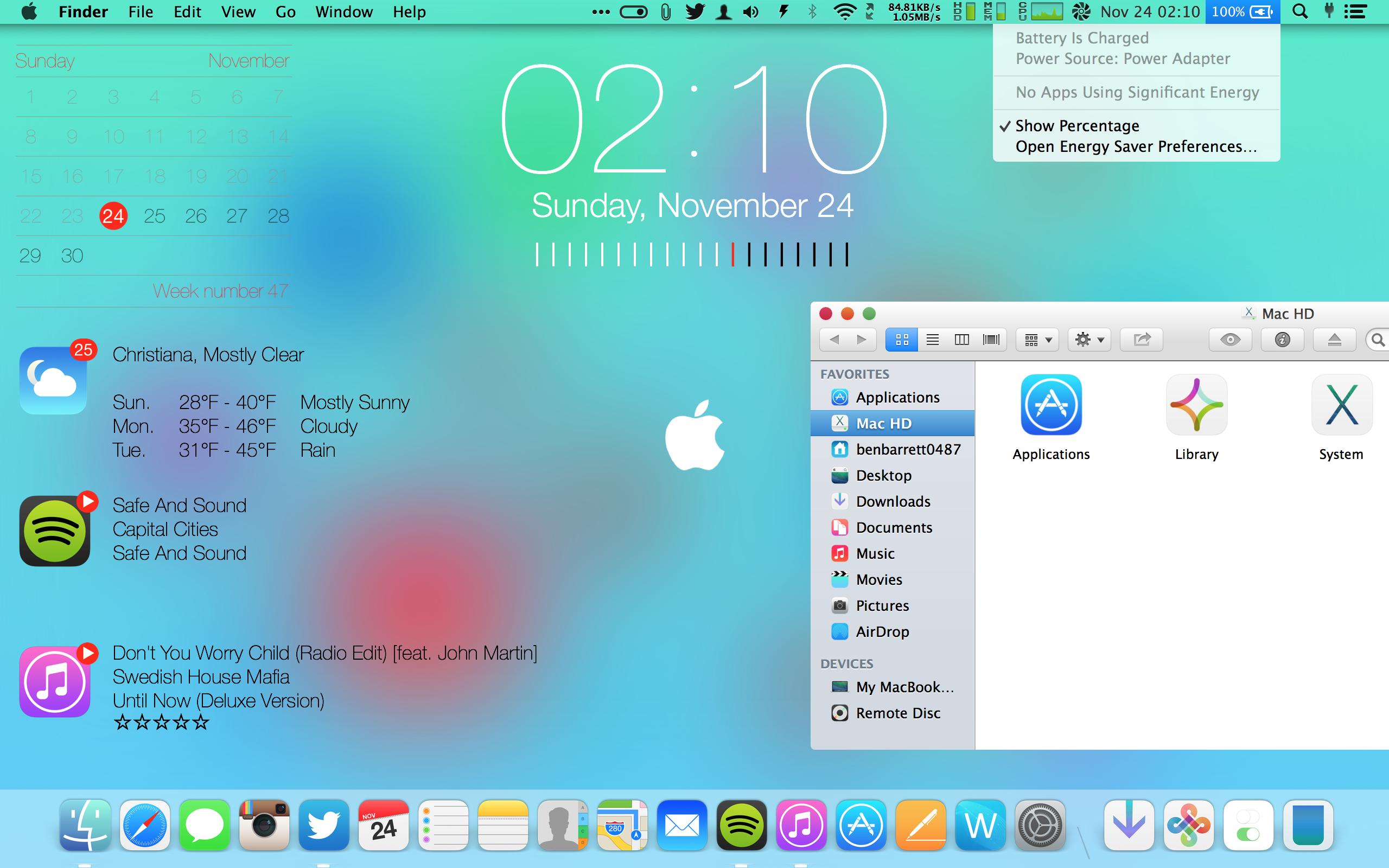 💣 Theme mac os x mavericks windows 7 | OS X Yosemite Theme